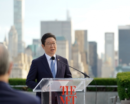 Culture Minister hints at expansion of Korean gallery at the Met