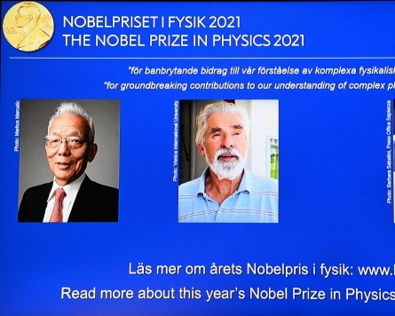 Nobel Physics Prize to two climate experts and Italian theorist