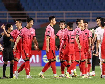 S. Korea looking to end drought vs. Iran in away World Cup qualifying match