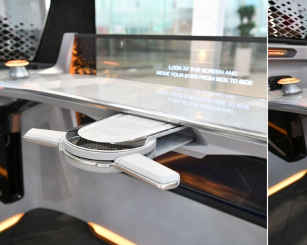Hyundai Mobis develops a foldable steering system