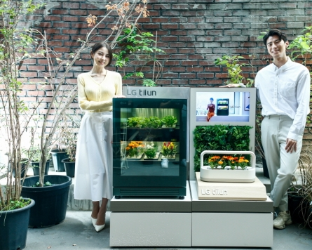 LG Electronics launches tiium, a smart plant growing device for home gardeners