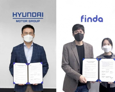 Hana partners with Hyundai, Kia for connected car financial services