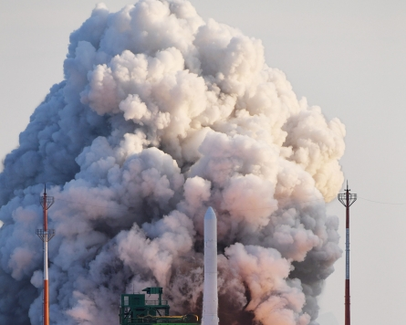 Nuri rocket blasts off