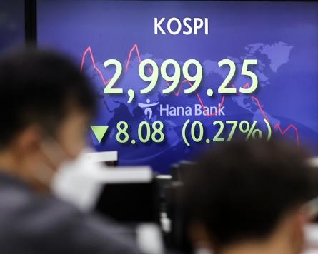 Seoul stocks open tad lower on China's Evergrande risk