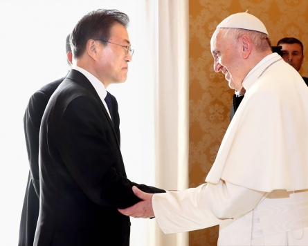 Moon to meet with Pope Francis on European tour