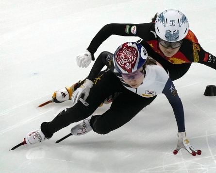 Woes continue for national short track team with top female skater injured
