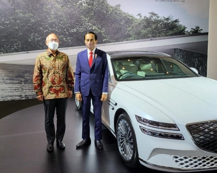 Hyundai Motor chief vows to cooperate on EVs with Indonesia