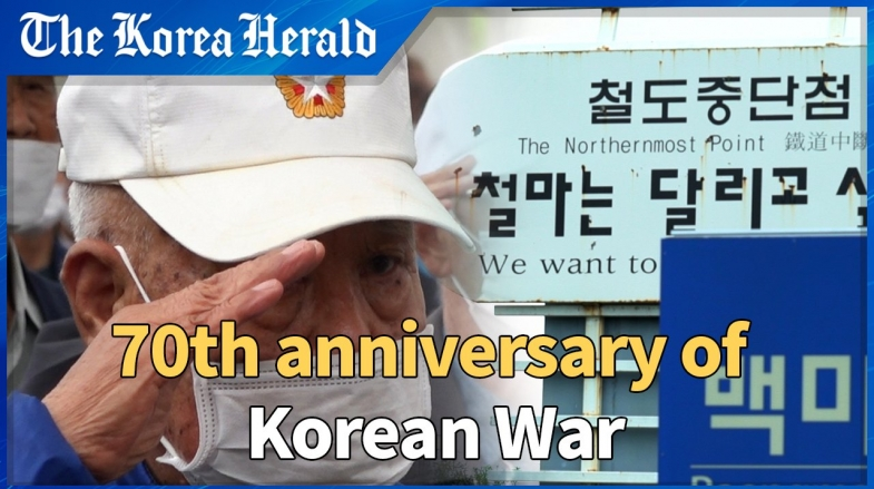[Video] Korean War veterans wish for the end of war and lasting peace