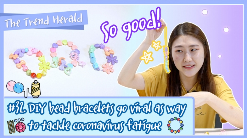 [Video] DIY bead bracelets go viral as way to tackle coronavirus fatigue