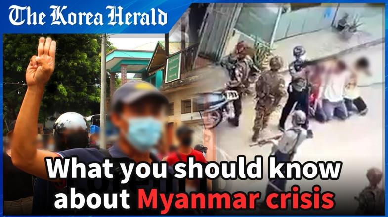 'People in Myanmar are like prisoners'