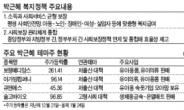 <생생코스닥>1월 최고테마 '박근혜株' 열기 언제까지