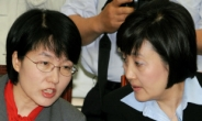 <포토뉴스>민주당 스나이퍼 '朴자매'