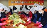 <포토뉴스> 신한은행 '김장 나눔'