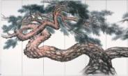 창원蒼園 이영복, 원로 한국화가의 '소나무' 展