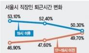 [2019 보통사람 금융생활보고서] 저녁이 있는 삶 서울 직장인…'홧김소비' 1회 8만6000원