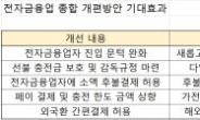 전자금융업 '새 판' 짜기 분주한 금융위