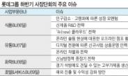 롯데 하반기 키워드 '온라인·글로벌·CSR'