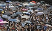 24일 홍콩 시위에서 열흘만에 최루탄 등장
