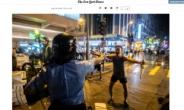 홍콩 권총맨 등장, 경찰이 총 겨냥해도 당당