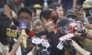 """대만서 '페인트테러' 당한 데니스호 """"홍콩은 테러에 절대 지지 않을 것"""""""