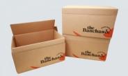 더반찬&, 신선식품 포장용 박스 '친환경 종이박스'로 대체