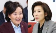 """""""달나라 시장"""" vs """"돈 준다고 결혼?""""…독한 '나-박 전쟁' [정치쫌!]"""