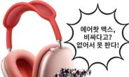 """""""비싸도 없어서 못판다!"""" 헤드폰 '에어팟 맥스' 15일 韓상륙! [IT선빵!]"""