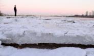 [헤럴드pic] 한파가 만든 한강 얼음