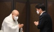 [헤럴드pic] 조계사를 찾은 안철수 국민의당 대표