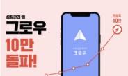 휴넷이 만든 성장관리 앱 '그로우', 10만 다운로드 돌파