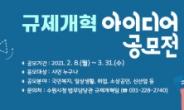 수원시 규제개혁 아이디어 공모전 개최