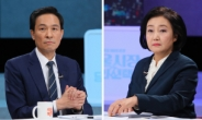 """첫 TV토론 '프레임 전쟁'…우 """"민주당다운 후보"""" vs 박 """"첫 여성 시장""""[정치쫌!]"""
