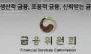 """금융위 자문기구 """"인허가 심사중단, 판단 기준 구체화 필요"""""""