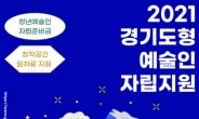 경기도 청년예술인, 300만원 지원