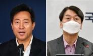 '정치생명' 걸고…오세훈·안철수, 野단일화 '승부수' 주목