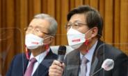 [헤럴드pic] 발언하는 국민의힘 박형준 부산시장 후보