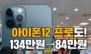 """""""134만원→84만원"""" 아이폰12 이례적 실구매가 인하 [IT선빵!]"""
