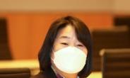 [헤럴드pic] 초선의원 모임에 참석한 윤미향 의원