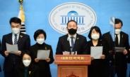 [헤럴드pic] 기자회견하는 더불어민주당 김원이 의원