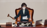 """김상희 국회부의장, 野에 """"아주 신났네 신났어""""…편파발언 논란"""