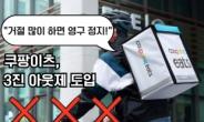 """[단독] 쿠팡이츠 """"배달기사 3진 아웃제 도입""""…반발 예상 [IT선빵!]"""