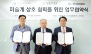 미술협-미술평론가협-화랑협, 상호협력 협약