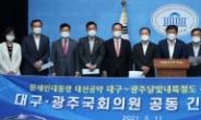 [헤럴드pic] 대구-광주달빛내륙철도 국가계획 반영 촉구 기자회견