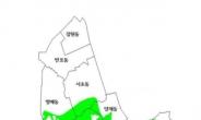 서초·강남 자연녹지 826만평 토지거래허가지역 규제 계속된다