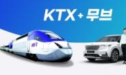 관광벤처 무브, KTX예매+목적지이동 '카레일' 연계서비스 개시