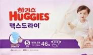 <신제품·신기술>유한킴벌리, 30% 얇아진 '하기스 맥스드라이'