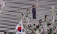 [개회식] 코로나+찜통더위 속 도쿄올림픽 무관중으로 개회식…한국 103번째 입장