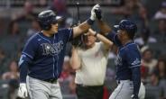 최지만 3점포로 시즌 5호 홈런… 탬파베이 4연승 견인