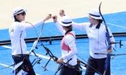 한국 여자양궁, 결승 진출…'올림픽 9연패' 단 한걸음 남았다