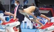 18세 황선우, 아쉬웠던 50m...그래도 한국수영 희망 쐈다